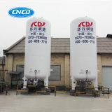 Azoto ou oxigénio líquido criogénico do tanque de transporte