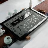 Il granito nero rende ad ardesia il bello cassetto di tè di pietra