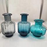 Vaso di vetro del mestiere della cristalleria domestica unica della decorazione