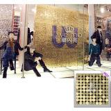 El panel activo del papel pintado del oro del aire