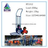 Escalera de escalera de metal Escalada Carrito de mano plegable