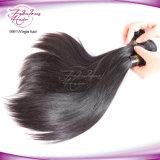 Cheveux brésiliens droites non transformés vierge naturelle des cheveux humains de gros