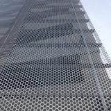 Aluminum perforé Panels avec Rhombic Hollow Patterns Cladding