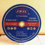 Inox-230X2X22.2のための切断ディスク
