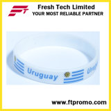 OEM Promotional Gift pulseira de silicone ecológica