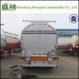 Massenbrennstoff/öl der Chemikalien-3 der Wellen-45m3/Benzin/flüssiger Diensttanker-LKW-halb Schlussteil