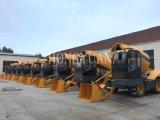 Caminhão autoflutuante do misturador concreto feito no misturador concreto Diesel de China