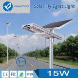 15W Produits du capteur de lumière solaire LED de la rue la nuit