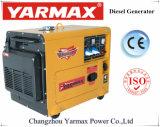 Générateur diesel insonorisé de Yarmax avec du ce 5kVA 6kVA