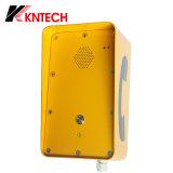 Sistema Metrotelephone fixado na parede Knzd-09 da entrada de porta do Auto-Dialler Knzd-09