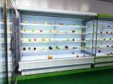 De nieuwe Showcase van de Ijskast van de Supermarkt van het Ontwerp met Digitaal Controlemechanisme