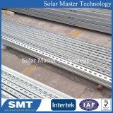 태양 전지판 지상에 의하여 직류 전기를 통하는 강철 태양 설치 구조