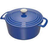鋳鉄のダッチオーブンの調理器具の熱い鍋