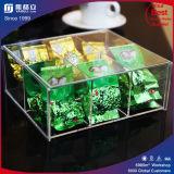 Подгонянная акриловая коробка упаковки коробки чая