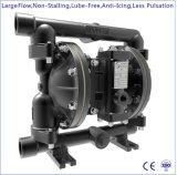 """1 """" grand flux en aluminium double pompe à diaphragme à commande pneumatique"""