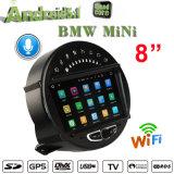 Android 7.1 do carro para vídeos do carro do Internet da navegação 3G do GPS do estéreo de BMW mini auto