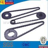 La precisión de la cadena de distribución del motor de motocicleta