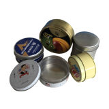 Contenitore Manufacure di stagno del contenitore di cioccolato del metallo di figura rotonda direttamente