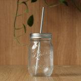 De ronde Kruik van de Bal van het Flessenglas van de Metselaar van het Deksel van het Metaal