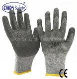 De Beschermende Latex Met een laag bedekte Arbeid van de bouw & Werkende Handschoenen