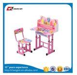 Mesa e cadeira ajustáveis ajustadas das crianças da altura da tabela do estudo dos miúdos