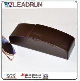 Óculos de metal de couro caso espetáculo de ferro caso Caixa óptica de óculos para óculos de sol Moda Desgaste óptica vidros ópticos (HX291)