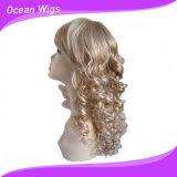 """Parrucca sintetica riccia dei capelli di colore chiaro a 6-36 """""""