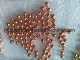 Anodisé Dia6.4mm Tungsten fendu de perles de couleur
