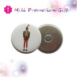 Imán promocional del refrigerador de la divisa del botón del Pin del cumpleaños del regalo del item del partido
