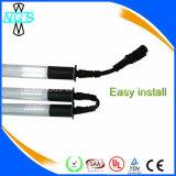Iluminação LED de tubo à prova d'água, lâmpada fluorescente