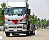 80トンの引きの新しいIsuzu 6X4のトラクターヘッド