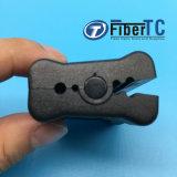 Boîtier de fibre/outil desserré de Peeler de fibre optique de découpeuse de jupe de tube/câble longitudinal