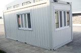 Casa modular prefabricada del envase de la estructura de acero para vivir