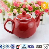 Personalizar el logotipo de esmalte de porcelana Tetera Tetera de café de cerámica vajilla Cafetera
