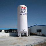 低温液化ガスの酸素タンク