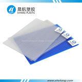 Panneau de mur creux (PC) en plastique protégé UV de polycarbonate
