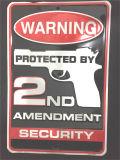 Отсутствие Trespassing знаков металла знака выбитых Nameplate предупреждающий