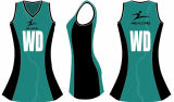 Платье Netball печати цифров картины Healong самое последнее для спорта