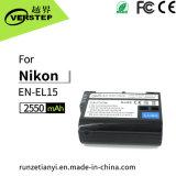 Batería de las cámaras digitales para Nikon En-EL15 D7000 D800