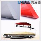 Mentre/tela incatramata impermeabile rossa/Tarps del PVC per il coperchio del camion/automobile/barca