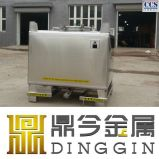 De 1500 litres conteneur médical en acier inoxydable