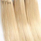 Virgem brasileira Huaman Cabelos Omber tecem 1b/613 Loira Remy Extensões de cabelo cabelos de dois tons (TFH18)