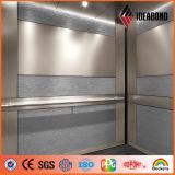 Ideabond建物のためのチタニウム亜鉛サンドイッチ合成のパネル