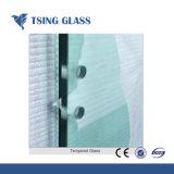 Tela plana perfurada dobrados ao vidro temperado para construir com o SGS Marcação Certificado ISO