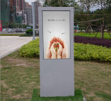 47 pulgadas que hacen publicidad de la máquina al aire libre Digital del monitor