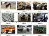 Tabella moderna delle forniture di ufficio per la persona 2 con il divisorio