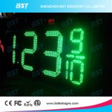 Indicador ao ar livre do preço de gás do diodo emissor de luz do brilho elevado