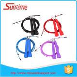 Corde de saut réglable de câble de vitesse, corde de saut, corde de saut à grande vitesse réglable, corde de saut de Crossfit