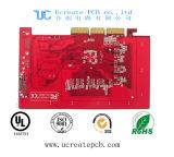 Duro personalizada con la placa PCB de Oro chapado en el borde para electrónica