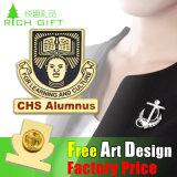 Pin de souvenir de revers de courroie d'IDENTIFICATION RF de Pub de vente d'usine/insigne réglés avec le logo personnalisé